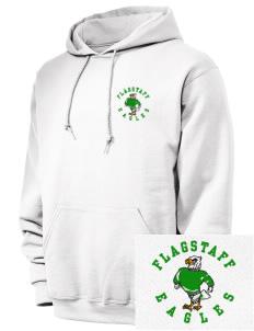 ad7adcef24b Embroidered JERZEES Unisex 8oz NuBlend® Hooded Sweatshirt