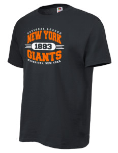 New York Giants Baseball Featured T Shirts