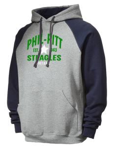 a1227ebd9 JERZEES Men s NuBlend® 8oz Colorblock Raglan Hooded Sweatshirt