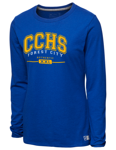 2b97c4d1 Chase High School Cheerleaders Forest City Russell Athletic Women's ...