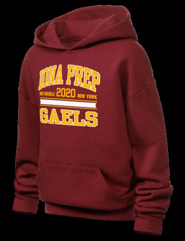 Medgar Evers College Youth Black Fleece Hoodie Track and Field Design
