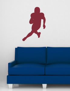 "Marshall High School The Phoenix Wall Silhouette Decal 20"" x 32"""