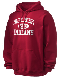 Big Creek Indians Ultra Blend 50/50 Hooded Sweatshirt