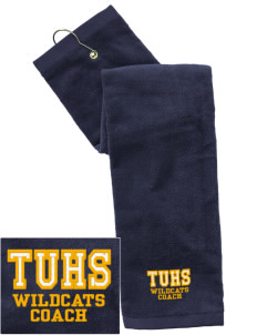 Taft Union High School Wildcats Embroidered Hand Towel with Grommet