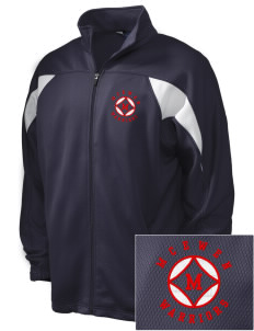McEwen Middle School Warriors Embroidered Holloway Men's Full-Zip Track Jacket