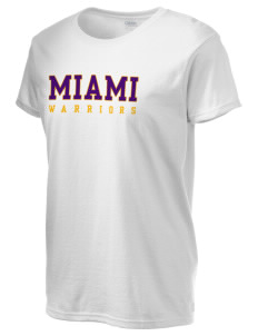 Miami High school Warriors Women's 6.1 oz Ultra Cotton T-Shirt
