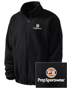 Prep Sportswear Embroidered Men's Fleece Jacket