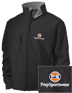 Prep Sportswear Embroidered Men's Soft Shell Jacket