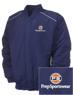 Prep Sportswear Embroidered Russell Men's Baseball Jacket
