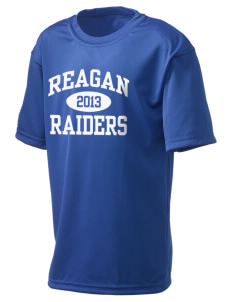 REAGAN HIGH SCHOOL Raiders  Holloway Kid's Zoom Performance T-Shirt