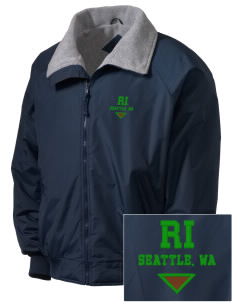 Ratio Interactive Seattle, WA Embroidered Men's Fleece-Lined Jacket