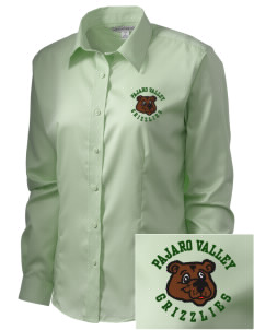Pajaro Valley High School Grizzlies  Embroidered Women's Long Sleeve Non-Iron Twill Shirt