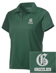 Pajaro Valley High School Grizzlies Embroidered Women's Double Mesh Polo