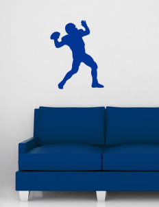 "Cascade Christian School Cougars Wall Silhouette Decal 20"" x 32"""