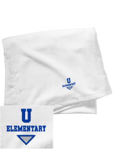 Undermountain Elementary Embroidered Beach Towel