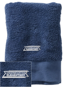 Undermountain Elementary Embroidered Zero Twist Resort Towel