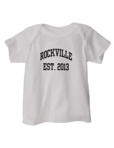 Rockville High School Rams  Baby Lap Shoulder T-Shirt