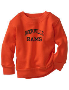 Rockville High School Rams Toddler Crewneck Sweatshirt