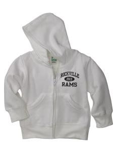 Rockville High School Rams Baby Full Zip Hoodie