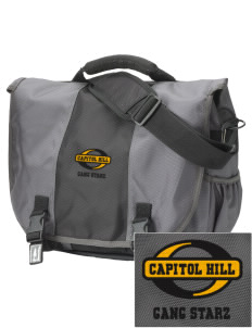 Capitol Hill Gang Starz  Embroidered Montezuma Messenger Bag
