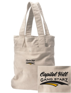 Capitol Hill Gang Starz Embroidered Alternative The Berkeley Tote
