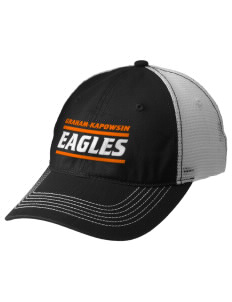 Graham-Kapowsin High School Eagles Embroidered Mesh Back Cap
