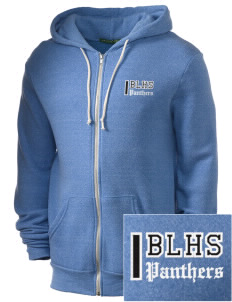 Bonney Lake High School Panthers Embroidered Alternative Men's Rocky Zip Hooded Sweatshirt