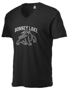 Bonney Lake High School Panthers Alternative Men's 3.7 oz Basic V-Neck T-Shirt