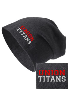 Union High School Titans Embroidered Slouch Beanie