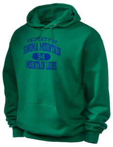 Sonoma Mountain Elementary Mountain Lions Holloway Men's 50/50 Hooded Sweatshirt