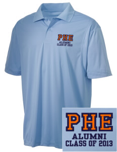 Pleasant Hill Elementary Dinosaurs Embroidered Men's Micro Pique Polo