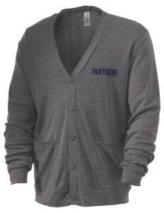 mead senior high school panthers Men's 5.6 oz Triblend Cardigan