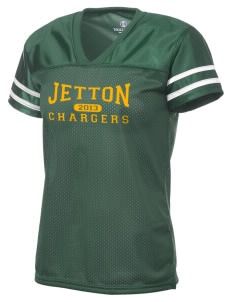 Jetton Junior High School Chargers Holloway Women's Fame Replica Jersey