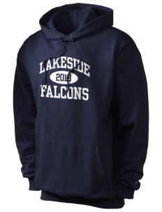 Lakeside Christian Academy FALCONS Champion Men's Hooded Sweatshirt