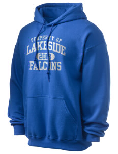 Lakeside Christian Academy FALCONS Ultra Blend 50/50 Hooded Sweatshirt