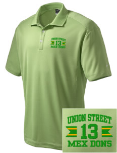 Union Street Elementary School Mex Dons Embroidered Nike Men's Dri-Fit Classic Polo