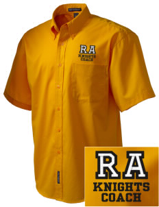Roche Avenue School Knights Embroidered Men's Easy Care Shirt
