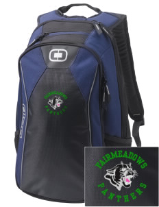 Fairmeadows Elementary School Panthers Embroidered OGIO Marshall Backpack