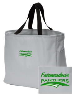 Fairmeadows Elementary School Panthers Embroidered Essential Tote