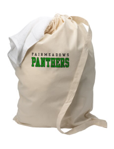 Fairmeadows Elementary School Panthers Laundry Bag