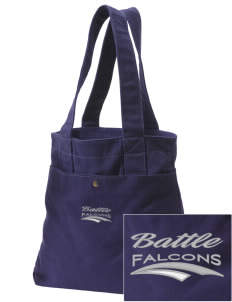 Battle Elementary School Falcons Embroidered Alternative The Berkeley Tote