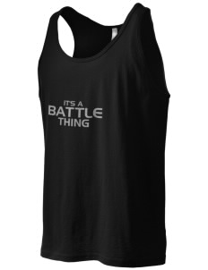 Battle Elementary School Falcons Men's Jersey Tank