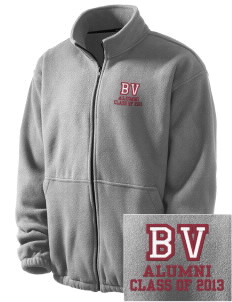 Barnet Village School Bulldogs Embroidered Men's Fleece Jacket