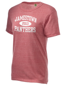 Jamestown Elementary School Panthers Alternative Unisex Eco Heather T-Shirt