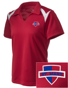 Saint Mary School Roadrunners Embroidered Holloway Women's Laser Polo
