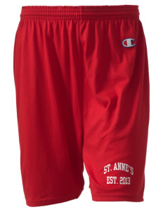 "Saint Anne's School Spartans  Champion Women's Gym Shorts, 6"" Inseam"