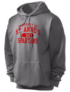 Saint Anne's School Spartans Champion Men's Hooded Sweatshirt