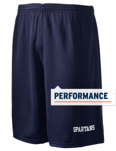"Saint Anne's School Spartans Holloway Men's Speed Shorts, 9"" Inseam"