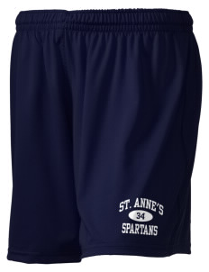 "Saint Anne's School Spartans Holloway Women's Performance Shorts, 5"" Inseam"