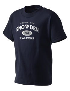 Snowden Elementary School Falcons Kid's T-Shirt